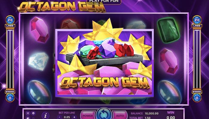 เกม Octagon gem
